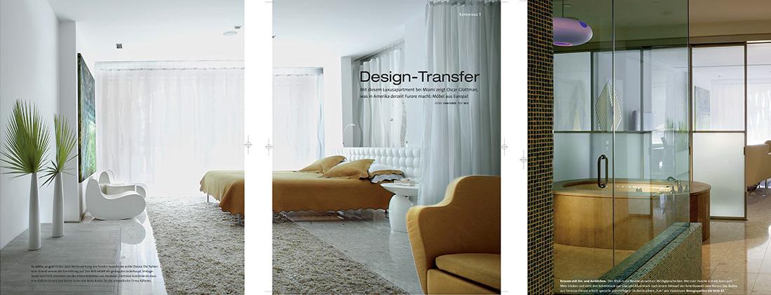 Wohn Magazine wohn design magazine features glottman