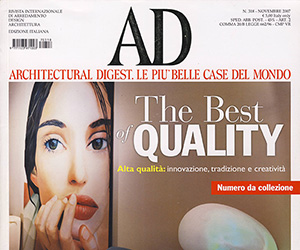 architectural digest italy : playing for tomorrow
