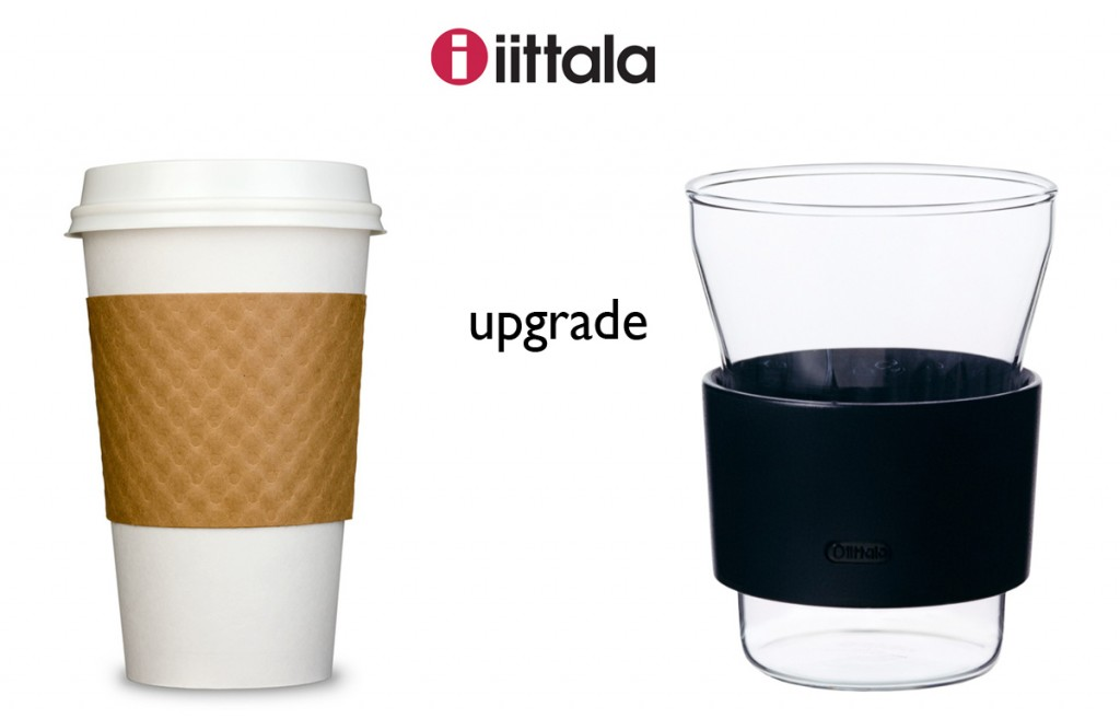 upgrade to the hotcool from iittala….