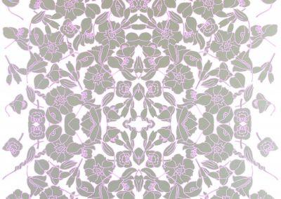 verdant vine- lavender frost