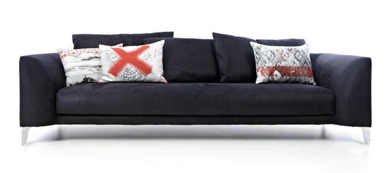 the moooi canvas sofa by marcel wanders