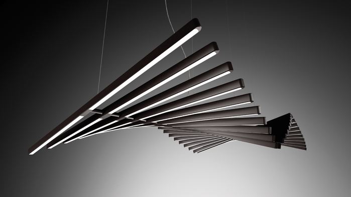 designed by arik levy rhythm creates its own choreography wherever itu0027s installed. each piece & vibia: light is creation...