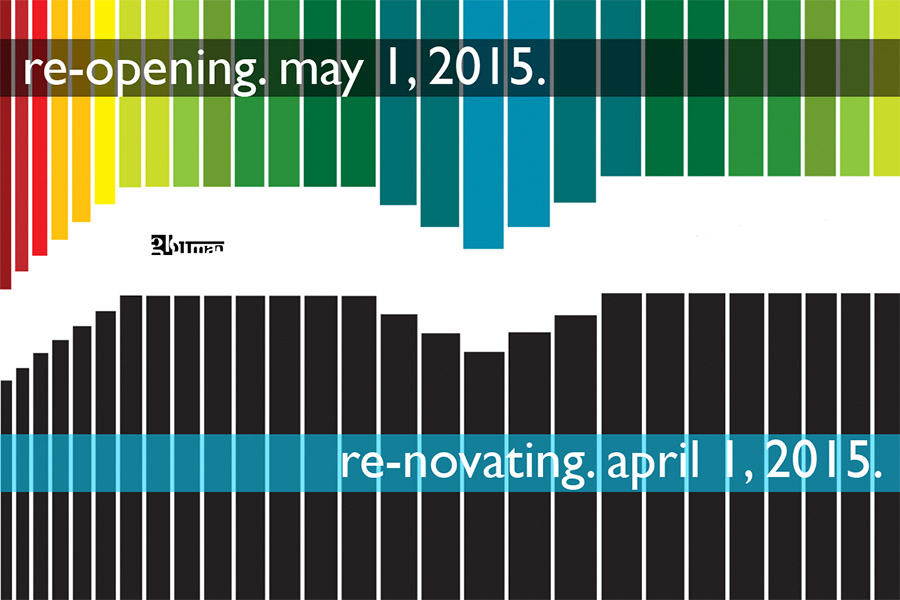 re-opening | re-novating