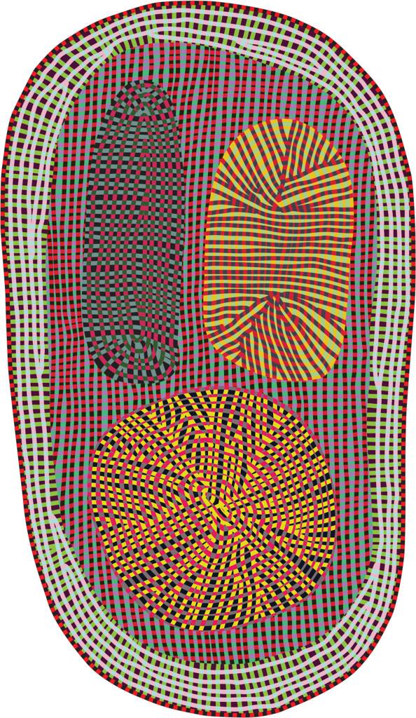 bertjan pot amoeba carpet for moooi.