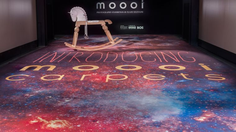 moooi carpets launch at via savona 56 during salone del mobile