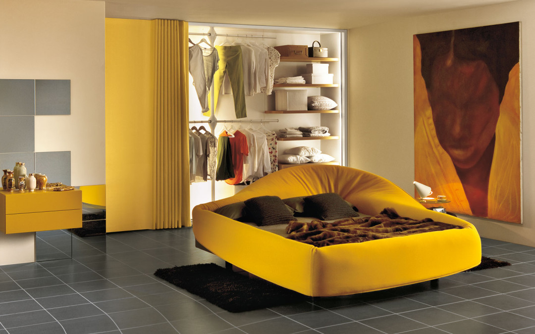 the colletto bed from lago available @ glottman