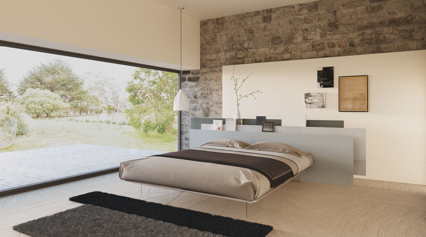 Glottman loves the vele bed from lago for Lago colletto bed