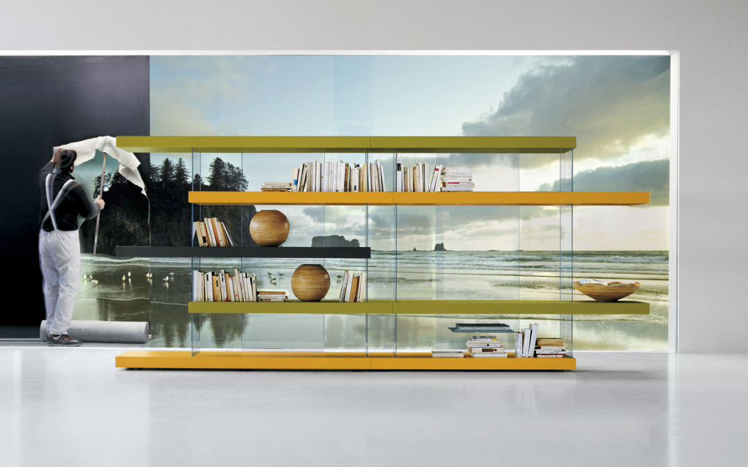come fly with the air bookshelf from lago