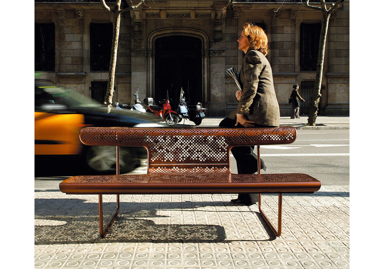 we love el poeta bench from bd barcelona