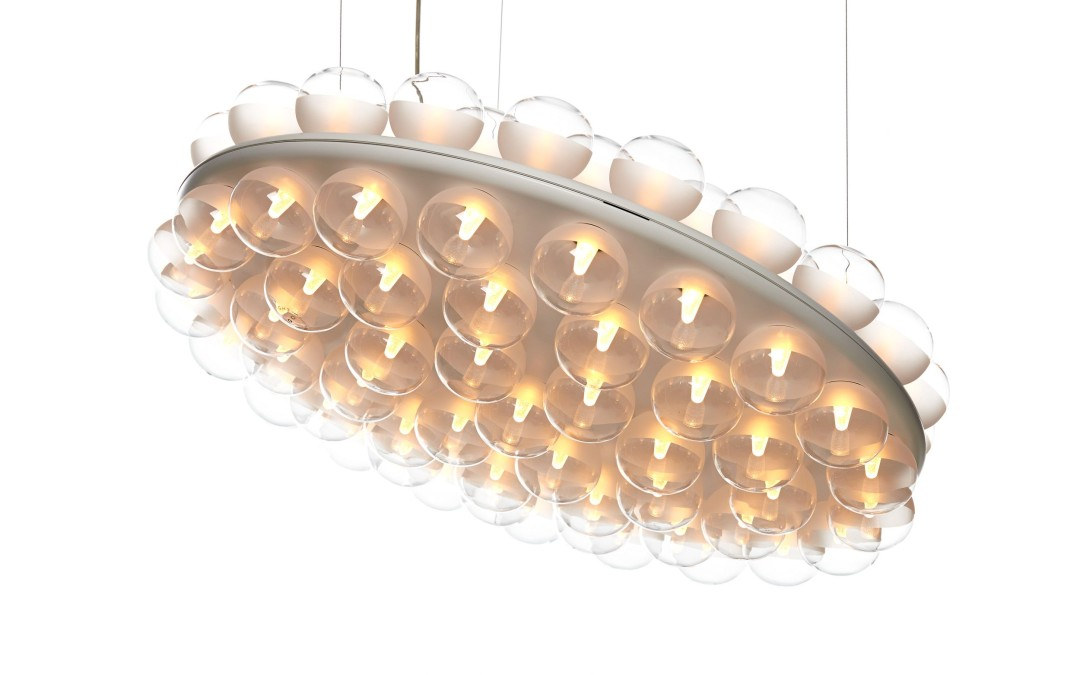 the prop light round from moooi now @ glottman