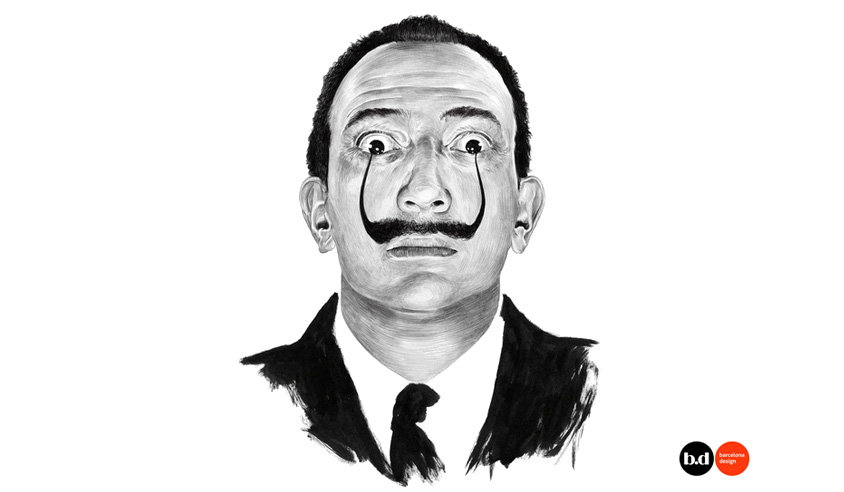 be (salvador dali) bold: