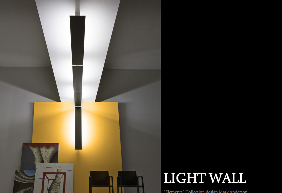 in focus: the light wall