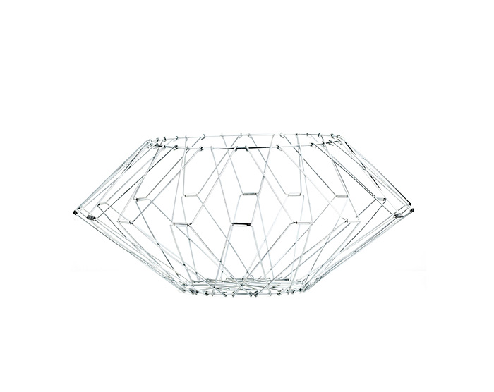 folding wire basket large