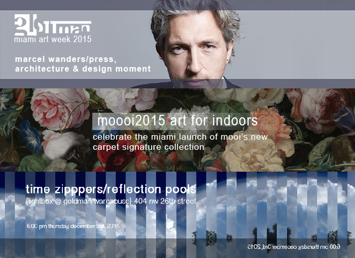 glottman presents marcel wanders, moooi & time zippers during miami art week 2015
