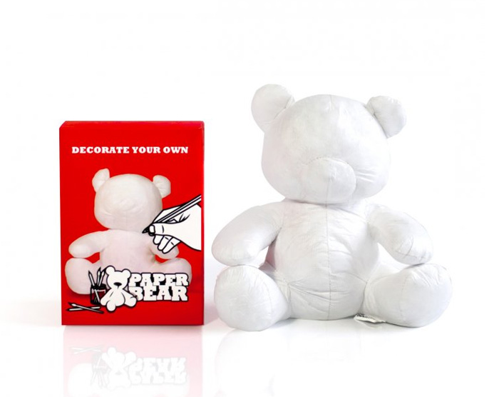 paper teddy bear