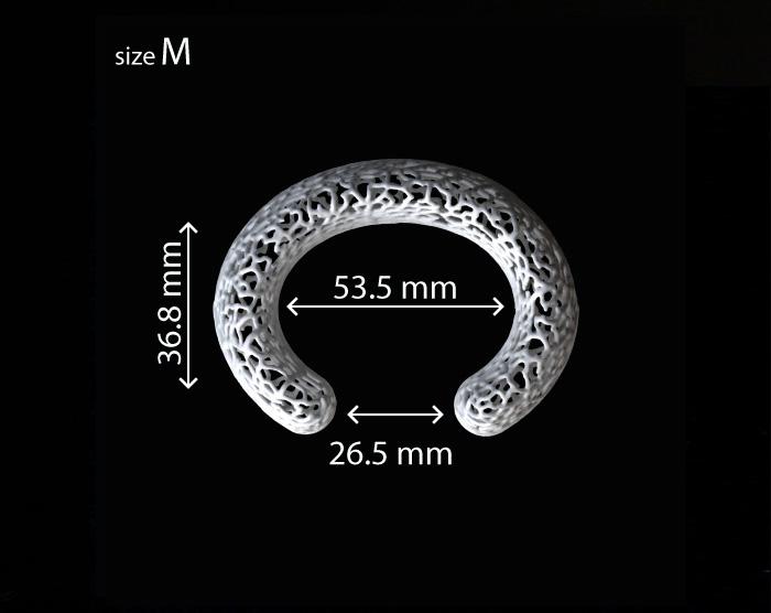 rhizome cuff medium dimensions