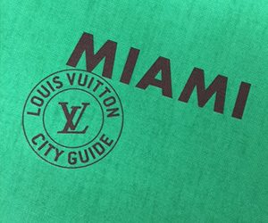 louis vuitton city guide : miami