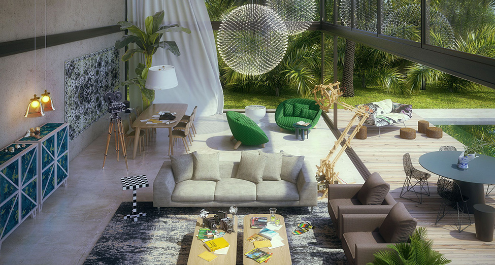 moooi projects | outdoor