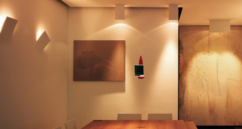 viabizzuno projects | dodo wall lamp