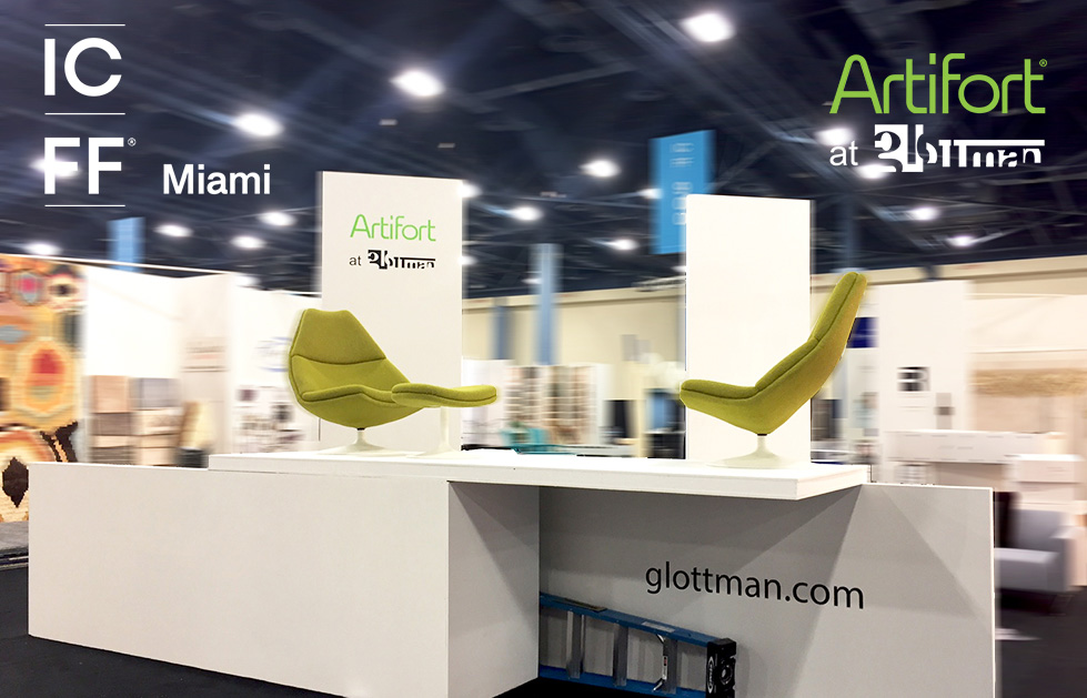 glottman showcases artifort at icff miami
