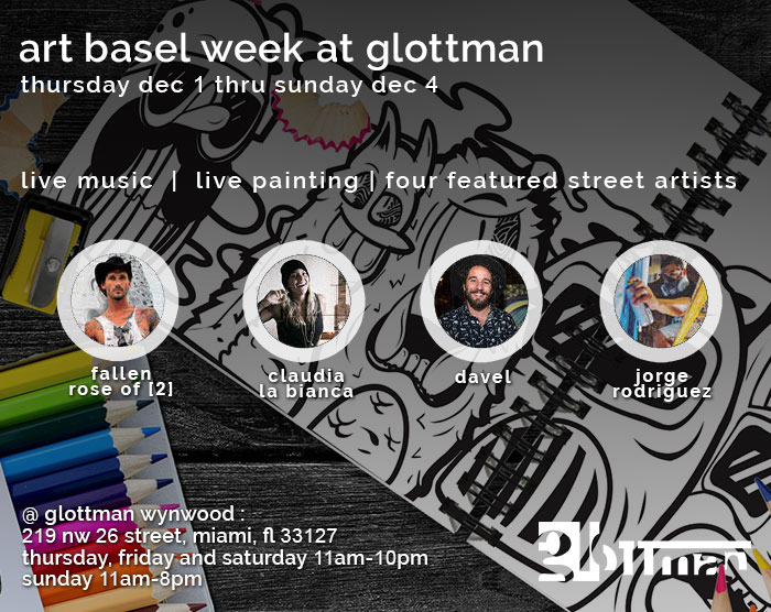 art basel week at glottman