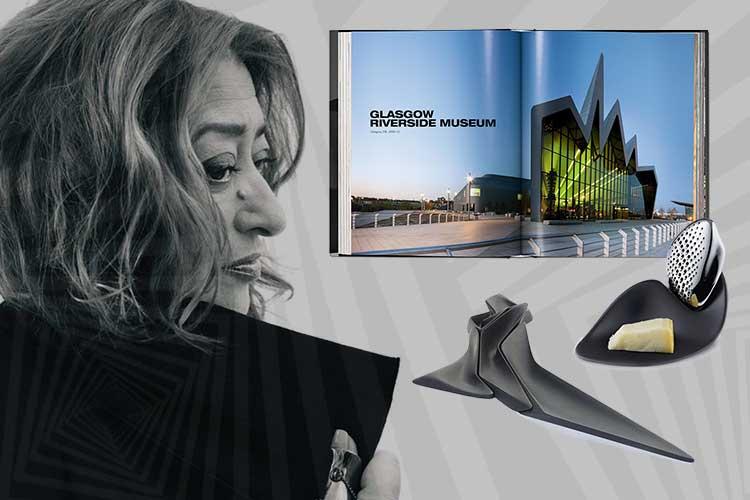 Zaha Hadid designer home accessories