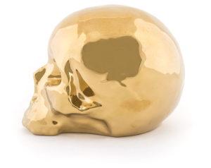 memorabilia limited edition gold my skull