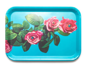 toiletpaper roses tray