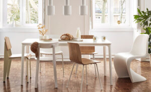 dining table environment by vitra