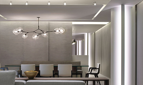 glottman showroom lighting